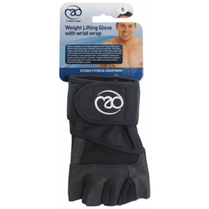 Fitness-Mad fitness gloves cotton/suede black size XL