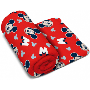 Arditex towel Mickey Mouse polyester 150 x 95 cm red
