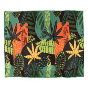Gerimport beach towel 150 x 150 cm polyester green