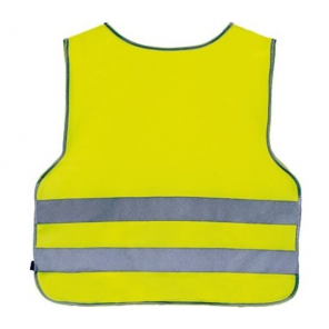 4-Act Safety Top Junior 2 Stripes Yellow Size M