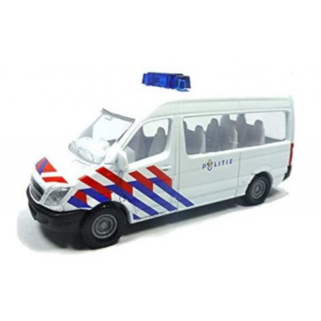 Siku Mercedes Benz Sprinter police 8.2 cm steel white (0806003)