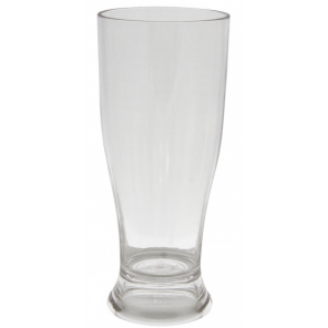 Eurotrail beer glass 350 ml polycarbonate transparent 2 pieces