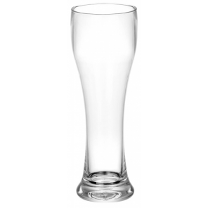 Eurotrail white beer glass 440 ml polycarbonate transparent 2 pieces