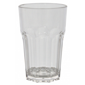 Eurotrail drinking glass 285 ml polycarbonate transparent 2 pieces