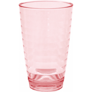 Eurotrail lemonade glass 375 ml polycarbonate red 2 pieces