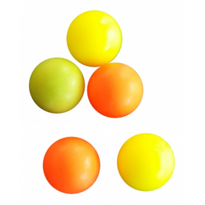 FAS table football 5 pieces yellow/orange/pink
