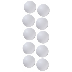 FAS table football 34 mm white 10 pieces