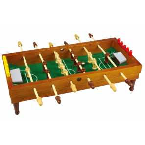 Free and Easy table football 35,5 x 35 cm brown