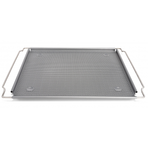 Patisse baking tray perforated adjustable 38 x 35 cm steel silver