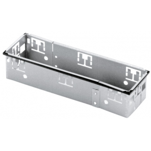 Carpoint radio mounting panel Snap-In ISO 10 x 29 cm steel silver