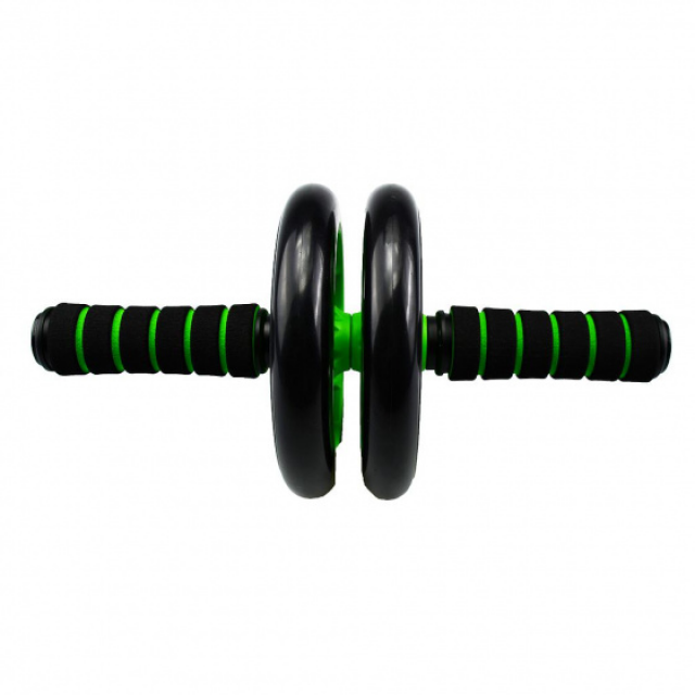 Urban Fitness abdominal muscle wheel 16.5 cm plastic/foam green/black