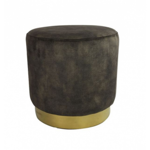 Countryfield pouf ro Millville 42,5 cm anthracite
