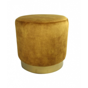 Countryfield pouf ro Millville 42,5 cm rust gold