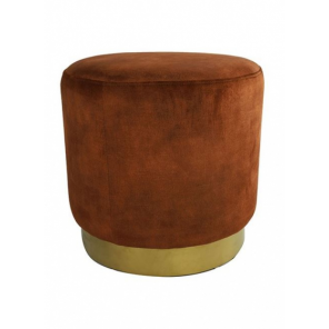 Countryfield pouf ro Millville 42,5 cm rust