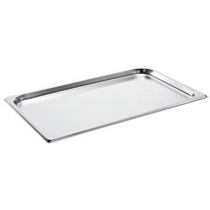 Paderno griddle 53 x 32,5 cm stainless steel silver