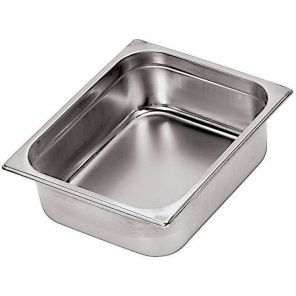 Paderno gastronorm tray 53 x 32,5 x 15 cm stainless steel silver