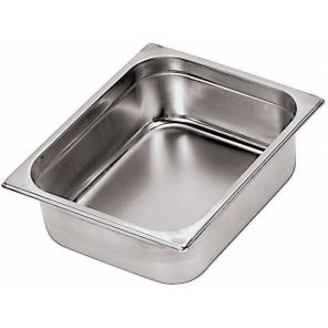 Paderno gastronorm tray 32 x 26,5 x 6 cm stainless steel silver