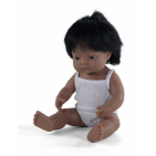 Miniland baby doll boy with vanilla scent 38 cm white package