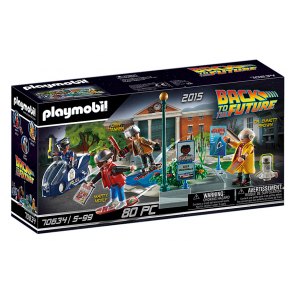 PLAYMOBIL Back to the Future II: Hoverboard chase (70634)