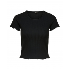 Only Women T-shirt WH7-EMMA_S_S_TOP_NOOS_9 (black)