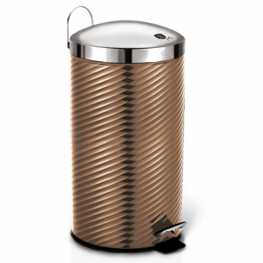 Berlinger Haus pedal bin Rose Gold 20 litres stainless steel pink