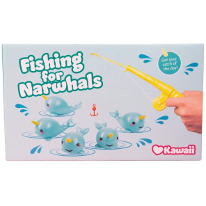 Fizz Creations toy Narwhal Fishing 22 cm 6-piece