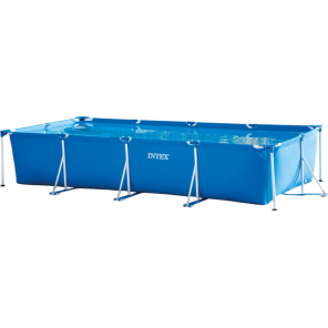 Intex above ground pool with pump 28274GN 450 x 220 cm blue