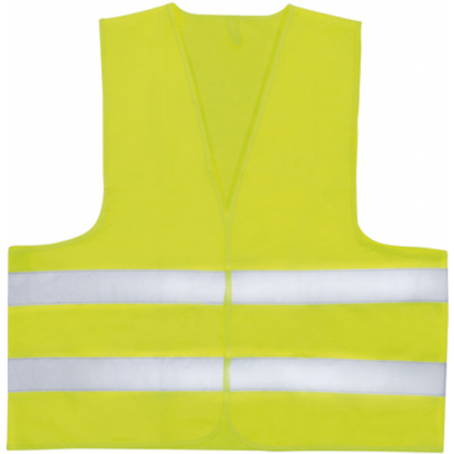 Westcott safety vest Easy Absorb polyester yellow one-size